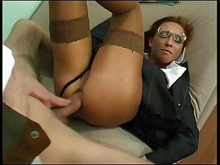 Porno Video of Anal Fuck Is Nice When It's In Uniform Babe.