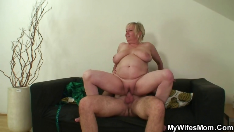 Porn Tube of Cock Hungry Mom Jumps On Her Son On Law