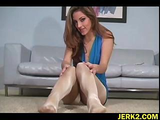 Porno Video of Pantyhose Worship For Jenna Haze