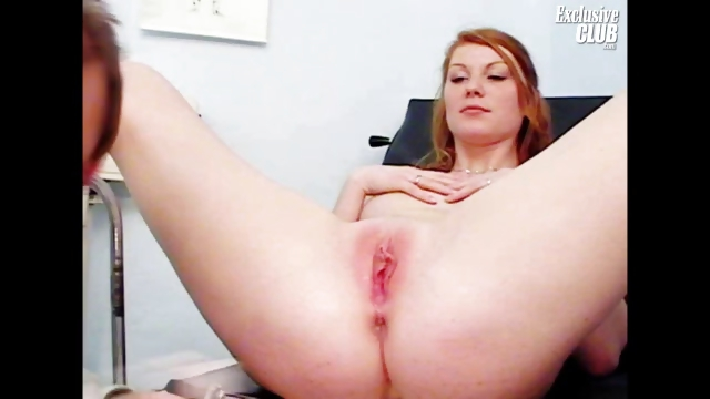 Porno Video of Helga Gyno Pussy Speculum Examination On Gynochair At Kinky Clinic