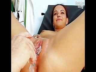 Porno Video of Bridgit Gyno Pussy Proper Speculum Examination At Kinky Gyno Clinic