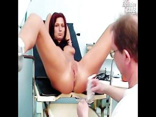 Porno Video of Sara Gyno Exam Including Pussy Speculums Exam And Pussy Enema