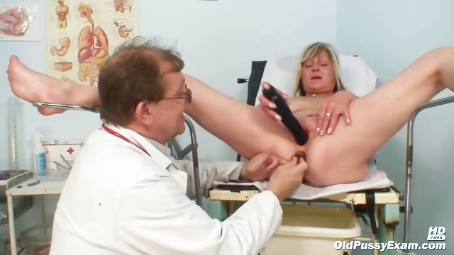 Porno Video of Nada Visits Her Gyno Doctor For Mature Pussy Speculum Gyno Exam