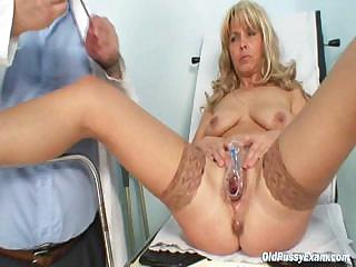Porno Video of Milf Jirina Teached By Gyno Doc How To Use A Dildo