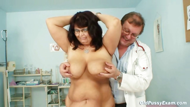 Porno Video of Mature Daniela Has Her Huge Tits Checked By Gyno Doctor