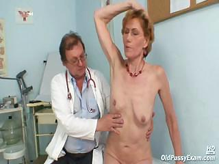 Porno Video of Classy Old Lady Mila Needs Gyno Clinic Examination