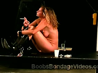 Big boobed babes tortured by horny perv in this brutal BDSM