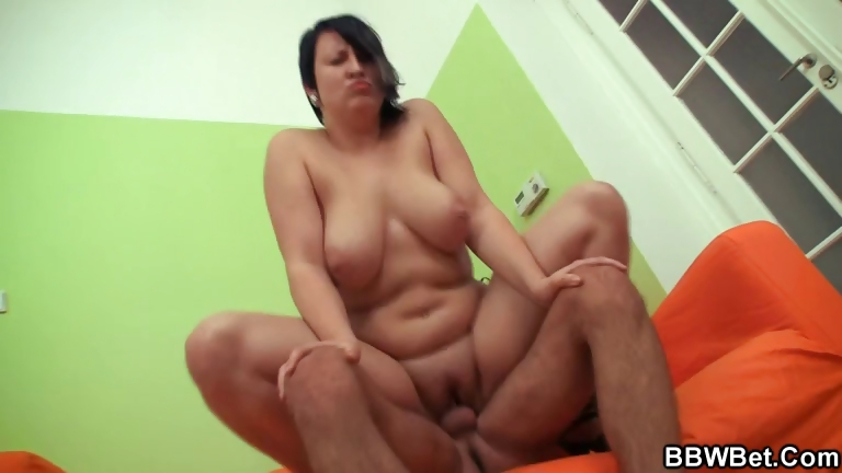 Porn Tube of Hot Bbw Enjoys Pussy Fingering And Cock Riding