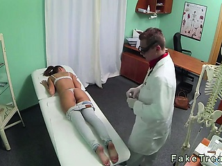 free porn Good looking brunette fucked by doctor in fake hospital 8tube.eu