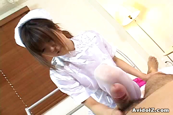 Porno Video of Horny Japanese Nurse Giving A Hot Handjob
