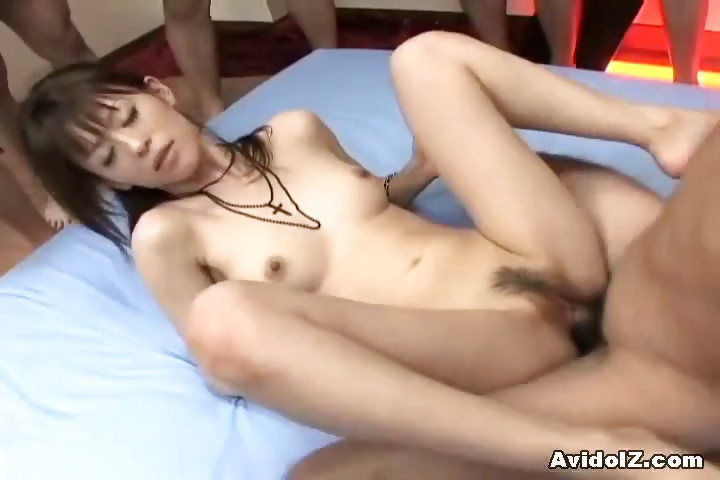 Porn Tube of Hot Japanese Slut Gets Deeply Fucked In All Positions