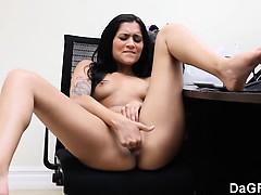 Русское порно с грудастой молодухой