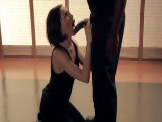 Sex Movie of Dana Dearmond Sucks And Fucks An Alien Black Cock In Movie
