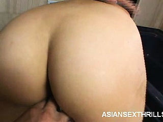 Asian Fisting in the Shower