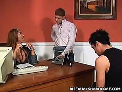 Красивое французское групповое порно