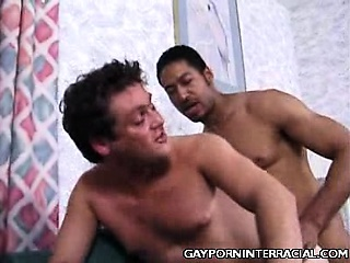 White Gay Interracial Anal