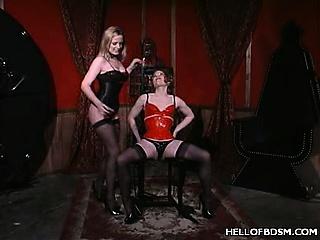 Mistress Erzebets Hot BDSM Slave