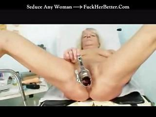 Porno Video of Granny Gets Her Pussy Checked Out By The Gyno Doctor In This Clip