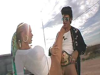 Porno Video of Pulling Over With The Nasty Jenna Jameson