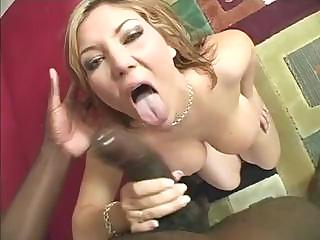 Porno Video of Busty Claire Dames Sucks This Big Black Cock And Takes It Deep