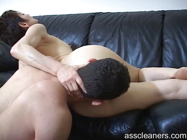 Porno Video of Young Man Licks And Pleasures Horny Old Mistress' Ass Hole