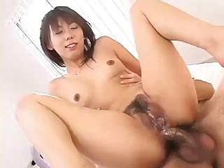 Porno Video of Maho Sawai Uses Her Hands And Feet As Well As Her Mouth On These Cocks