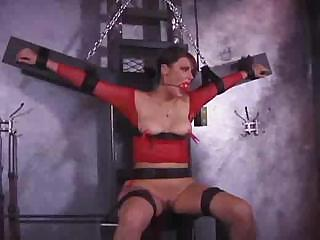 Porno Video of Pamela Is Tied Up And Gagged And Gets Tortured From Her Mistress