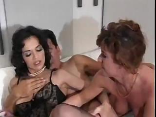 Porno Video of Hot Threesome With Milfs And There's Cock Sucking And Anal Fucking
