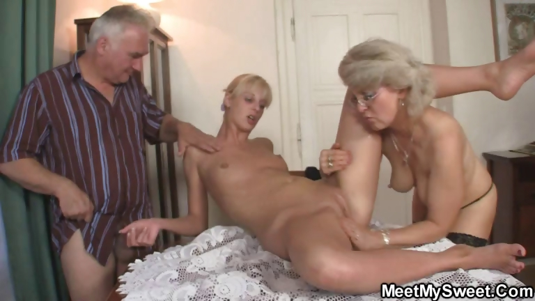 Porn Tube of Perverted Parents Fuck Their Son's Gf
