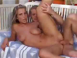 Porno Video of Sexy Blonde Anita Shares Some Oral And Then Gets Down To Fucking