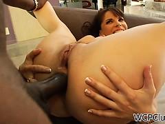 Порно с двумя членами в одну дырку