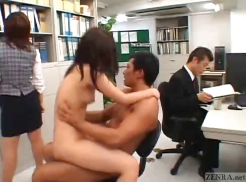 Porno Video of Japanese Couple Fucks In The Middle Of An Office
