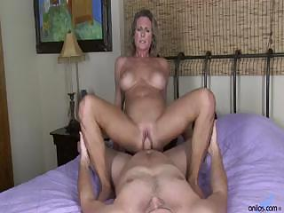 Porno Video of Busty Cougar Hardcore Pussy Pounding