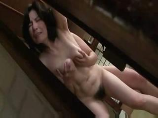 Porn Tube of Mature Japanese Woman Gets Lathered Up And Sucks And Gets Eaten