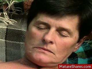 horny mature outdoor sex