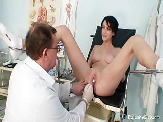 Porno Video of Busty Goddess Wicked Gyno Doctor Exam