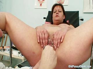 Porno Video of Big Tits Mom Real Gyno Check Up