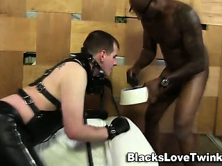 Bdsm black toys whiteys ass