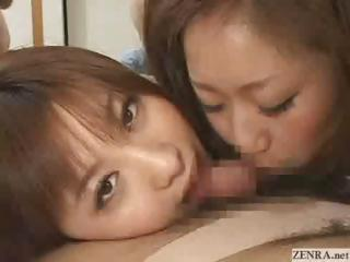 Japanese porn stars have orgy with their fans