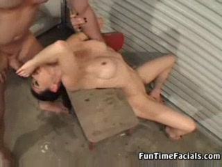 Nina Gets A Messy Facial