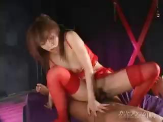 Sex Movie of Japanese Babe Rei Himekawa Sucks And Fucks Her Dude With Passion