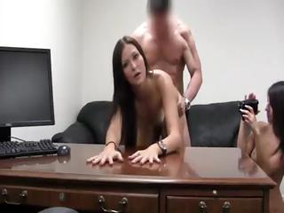 Porno Video of Casting Two Teens