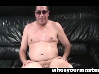 femdom wife spanking submissive husband