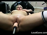 Amateur Slut Machine Fucked