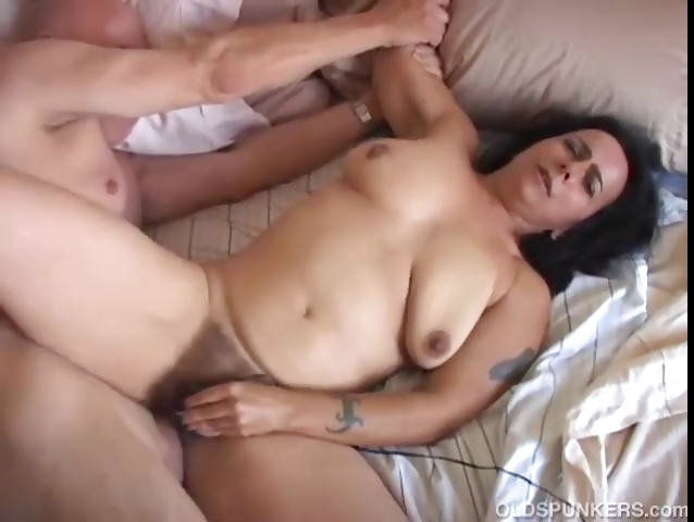 Mature fat orgasm