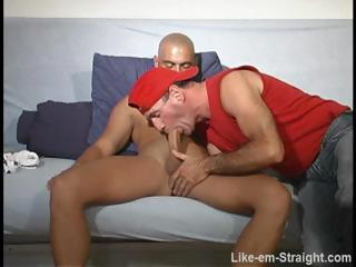 Porno Video of I Give Str8 Muscular Hungarian Skinhead Bj Rim And Fingerfuck.
