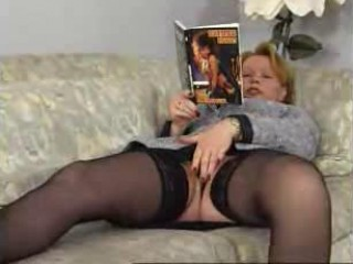 Pervert family with busty redhead mature kira red