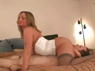 Porn Tube of Male Slave Does Whatever She Tells Him To Do And Eats Her Ass