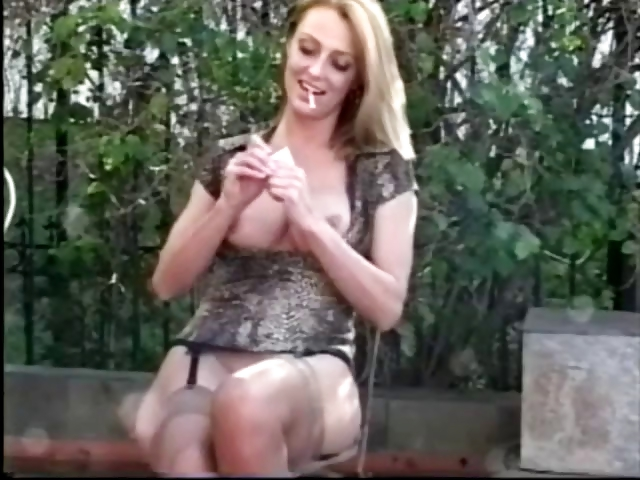 Porno Video of Brenda James Sexy Smoking Fetish
