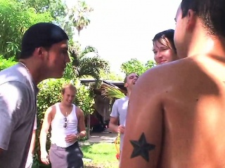 Straight twinks outdoor gay hazing
